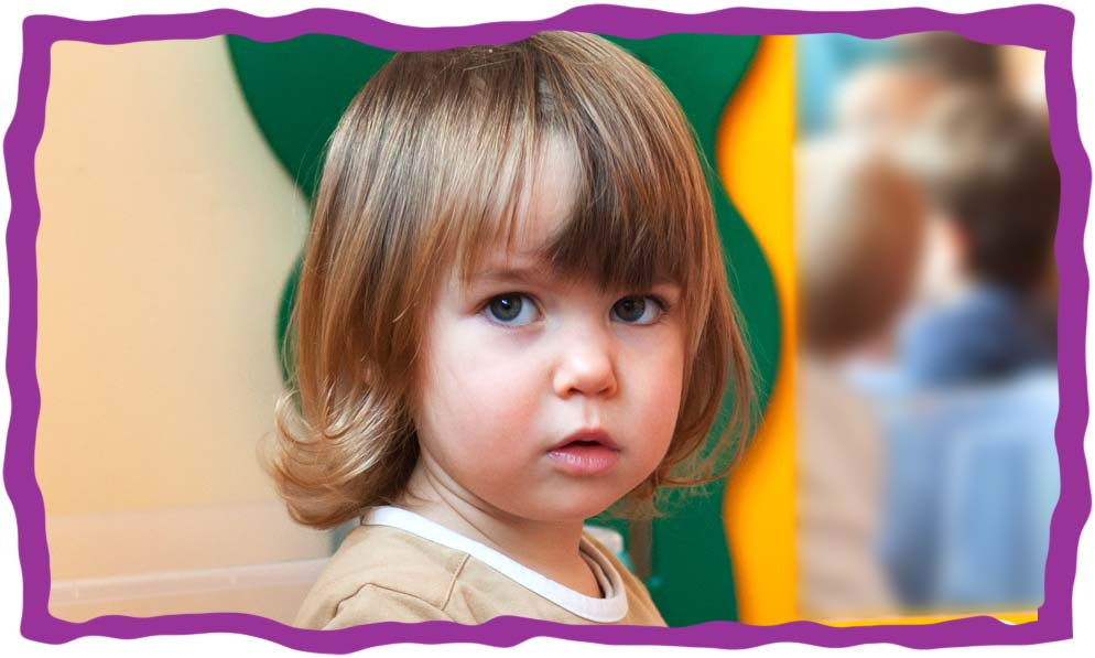 Bild eines Kindes in der KITA Karamba